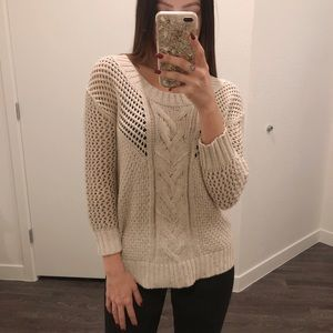 Banana Republic Heritage Cable Knit Sweater